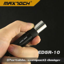 Maxtoch ED5R-10 Aluminio Cree LED R5 AAA batería seca linterna
