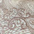 Tissu de broderie design clasical pour robe de soirée