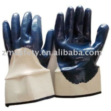 Heavy Duty Safe Cuff Nitrile coated glove