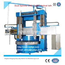 Torno CNC de doble husillo Precio de torno vertical ofrecido por Torno CNC de doble husillo