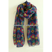 Beautiful printed pashmina shawl nepal