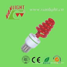 T3 Lâmpada de cor vermelho Xt bulbos (VLC-CLR-XT-série-R) de poupança de energia