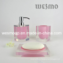 Polyresin baño / accesorios de baño conjunto (WBP0202E)