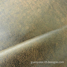 Bronzing suede fabric for car synthetic leatherNew