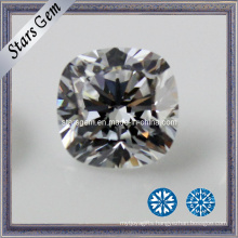 High Quality Cushion Cut Cubic Zirconia Gemstone