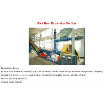 60 T / d, 80 T / d máquina de extração de óleo comestível de farelo de arroz contínuo e automático com CE e ISO