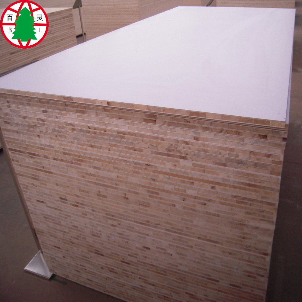 High glossy melamine blockboard 18mm for cabinet