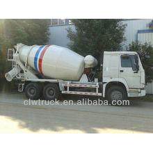 HOWO Concrete Mixer Truck,6X4 Cement Mixer in Iraq