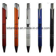 Pluma agradable del regalo de la promoción, un Highlighter del tubo, una pluma de bola del tubo (LT-C743)