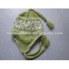 women's classic winter machine knitted hat