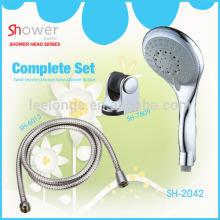 LL-1004 Economic 5 ways plastic bath accessories for shower