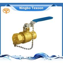 Venda quente superior qualidade melhor preço preço bronze válvula de esfera