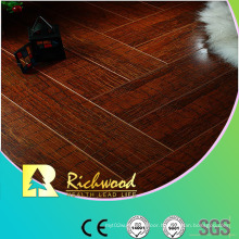 12.3mm E1 HDF Mirror Walnut Sound Absorbing Laminate Flooring