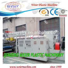 High output plastic single screw extruder equipment