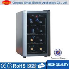 Refrigerador de vinho do hotel 25L de baixo nível de ruído mini com refrigerar termoelétrico