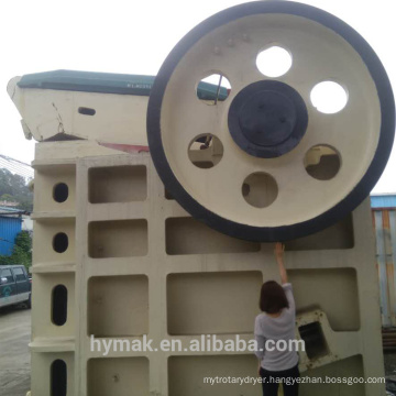 PEF1114 stable global supplier large yeild jaw crusher and parts