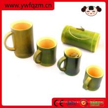 taza de té japonesa de promoción copa de bambú