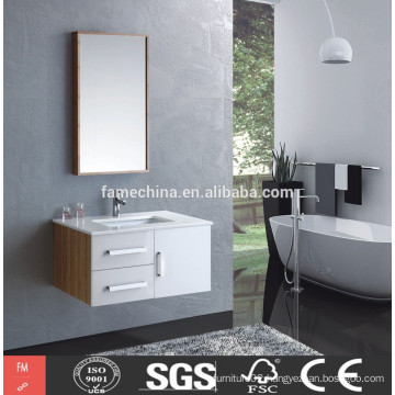 hot sell italian furniture MDF bamboo bathroom vanity