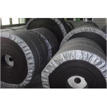 Correa transportadora de caucho reforzado de acero resistente a la abrasión / St4500