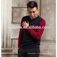 кашемир мода V шеи мужской свитер ОЕМ