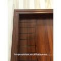 Mdf flush puerta sala de diseño de la puerta de melamina acabado a la venta para el hogar
