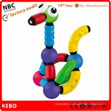 Пластмассовые строительные блоки Игрушки для детей