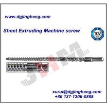 Parafuso para a máquina da extrusora do tubo do PVC