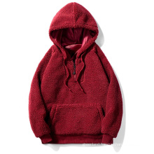2021 factory wholesale autumn new knitted windproof men's hoodie