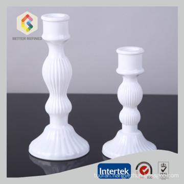 Elegant Candlestick Glass Candle Holder