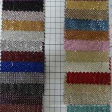Tissu de décoration textile en polyester brillant Ck-146