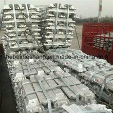 Lingots en aluminium de vente chaude 99.7