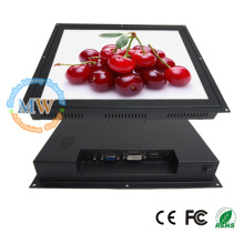 5:4 resolution 1280X1024 open frame 17 inch monitor with HDMI DVI VGA connector