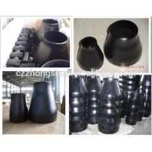 Réducteur concentrique / ANIS réducteur concentrique en acier au carbone / peinture noir Réducteur concentrique en soudure sanitaire en acier