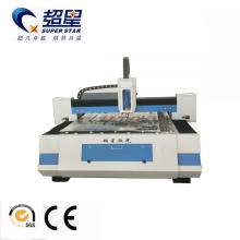 Máquina de corte por láser de fibra para acero inoxidable.