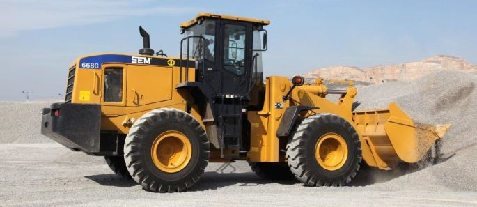 SEM 668C wheel loader