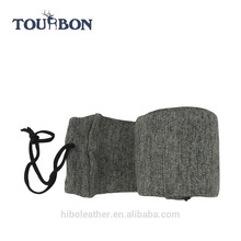 Tourbon Hunting Accessories Tactical Knit Gun Firearm Socks Gun Protector Shotgun Cover Grey Wholesale