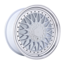 Benutzerdefinierte Alloy Rim White Machined Face 17 Zoll