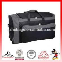 Bolsos de viaje de gran capacidad con bolsa de lona para adolescentes