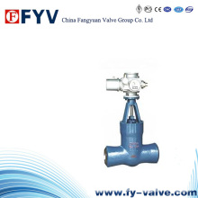 API High Pressure Electric Cast Steel Gate Valve