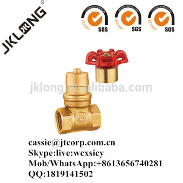 J1013 Brass magnetic lockable gate valve
