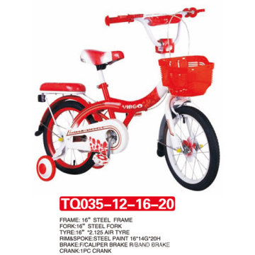 "Red Style of Children Bicycle 12""14""16""20"""