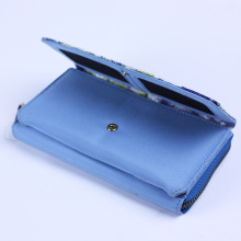 Customized for Supply Foldable Wallet,Leather Wallet,Long Wallet,Women Wallet to Your Requirements Faille Surface Wallet Card Zipper Phone Holder Organizer supply to Cape Verde Wholesale