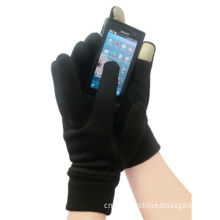 Gloves with winter thick 2 fingers screen touch gloves 250GSM Dry Plus Fleece for phone pad