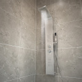 Modern design stainless steel bathroom shower panel
