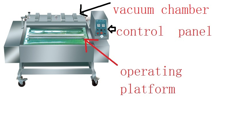 Continuous-type Vacuum Packing Machine