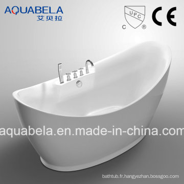 Baignoire autoportante acrylique approuvée CE / Cupc approuvée (JL626)