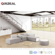 Sofa modulaire de tissu chaud de vente d'Orizeal, sofa sectionnel modulaire moderne de nouvelle mode (OZ-OSF029)