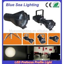 200W LED kühles / warmes Weiß / LED 4IN1 prefocus Profilfleck führte Studiolicht