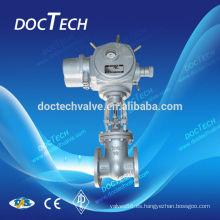 Actuador eléctrico y neumático actuador puerta válvula final brida DIN