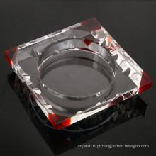 Cinzeiro de charuto de cristal barato para fumar